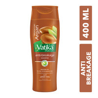 Vatika moroccan argan moisture soft anti-breakage shampoo for dry , unmanageable hair 400 ml