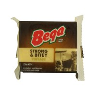 Bega Cheese Strong and Bitey Vintage 250g
