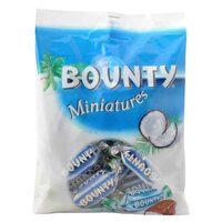 Bounty Miniatures Chocolates 150g