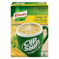 Knorr Cup-A-Soup Cream Of Mushroom 20g x Pack of 4