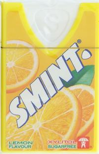 Smint Lemon Flavour Sugarfree 8g