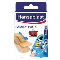 Hansaplast Plasters Family Pack 40 Stripes