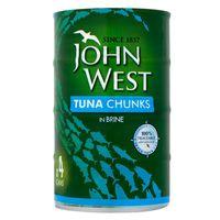 John West Tuna Chunks In Brine 580g