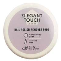 Elegant Touch Nail Polish Remover Pads x Pack of 20