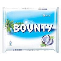Bounty Milk Chocolate Bars 57g x Pack of 5
