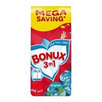 Bonux original 3 in 1 detergent powder high foam 7 Kg