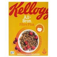 Kellogg's All Bran Plus Wheat Cereal 375g