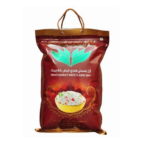 Buy Alrajhi White Basmati Classic Rice 5 Kg Online Shop Food Cupboard On Carrefour Saudi Arabia