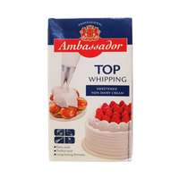 Ambassador Sweetened Whipping Cream 1L