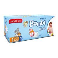 Bambi 5 jumbo box x large 10 - 25 kg x 80