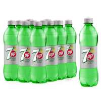 7UP Free Carbonated Soft Drink Plastic Bottle 500mlx12