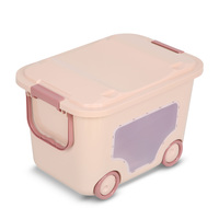 Storage box 4 wheels medium