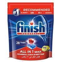 Finish All In One Lemon Dishwasher 28 Tablets