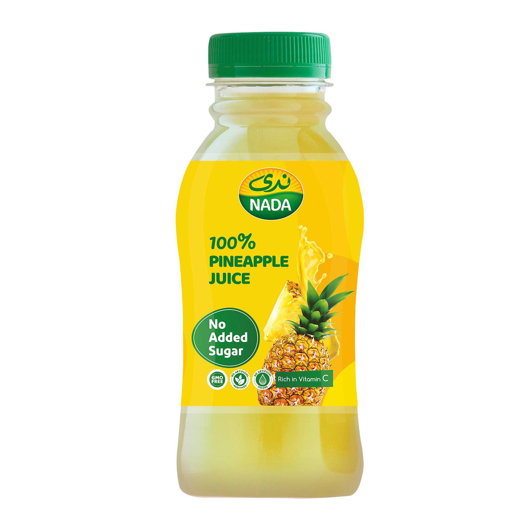 Buy Nada Pineapple Juice 300 Ml Online Shop Beverages On Carrefour Saudi Arabia