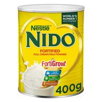 Nestle Nido Fortified Full Cream Milk Powder In Tin Can 400g