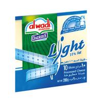 Al Wadi Al Akhdar Cheese Slice Lite 200GR