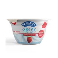 Taanayel Les Fermes Greek Yghurt Strawberry Low Fat 150GR