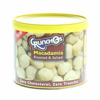 Crunchos Roasted & Salted Macadamia 100g