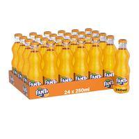 Fanta orange bottel 250 ml x 24