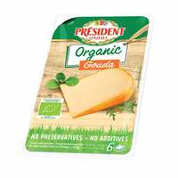 President Organic Gouda Cheese Slices 150g