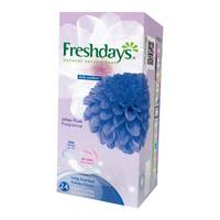 Freshdays pantylinrs long scented 24 pieces