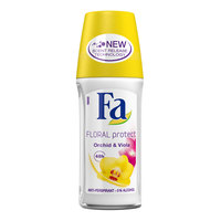 Fa floral protect orchid & viola deodorant roll on 50 ml