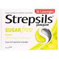 Strepsils Lemon Flavor Sugar Free 36 Tablet
