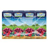 Lacnor Essentials Mixed Berries Juice 180ml x Pack of 8