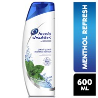 Head & shoulders refreshing anti-dandruff shampoo 600 ml