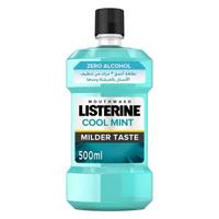 Listerine Zero Mouthwash 500ml x2