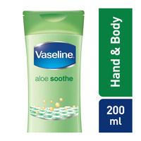 Vaseline aloe soothe body lotion 200 ml