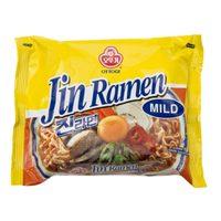 Ottogi Jin Ramen Mild Noodles 65g