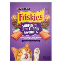 Purina Friskies Surfin and Turfin Favourites Cat Dry Food 459g