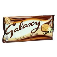 Galaxy Vanilla Cake 30g x Pack Of 10