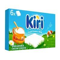 Kiri Spreadable Cream Cheese Squares 6 Portions 120g