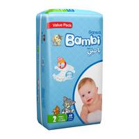 Bambi 2 value pack 2 small 3 - 6 kg × 48