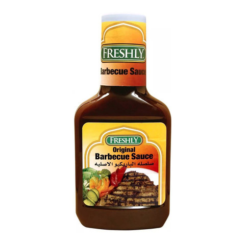 Buy Freshly Original Barbecue Sauce 510 G Online Shop Food Cupboard On Carrefour Saudi Arabia