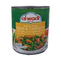 Al Wadi Al Akhdar Peas & Baby Carrots 800GR