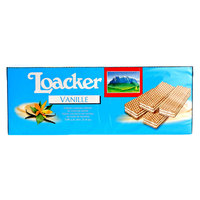 Loacker Vanilla Cream Filled Wafers 45g x Pack of 25