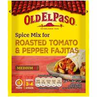 Old El Paso Spice Mix Roasted Tomato And Pepper 30g