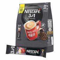 Nescafe 3In1 Intense Instant Coffee 20g x Pack of 30