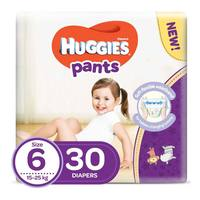 Huggies pants diapers size 6 15-25 Kg 30 diapers