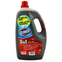 Clorox 5 in 1 Disinfectant Rose Cleaner 3L