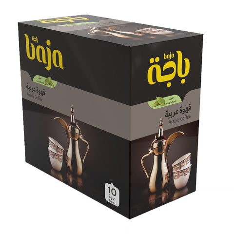 Buy Baja Instant Arabic Coffee With Cardamon 30 G X 10 Pieces Online Shop Beverages On Carrefour Saudi Arabia