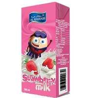 Al Rawabi Long Life Strawbery Liquid Milk  200ml