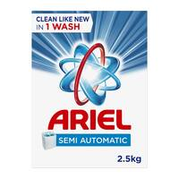 Ariel concentrated laundry powder detergent original scent 2.5 kg