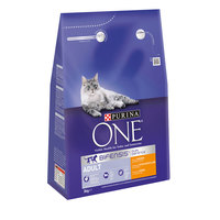Purina One Chicken and Whole Grains Adult Cat Dry Food 3kg