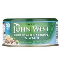 John West Light Meat Chunks In Water 170g