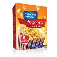 American Garden Hot And Spicy Popcorn 273g