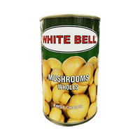 White Bell Mushrooms Whole 400GR